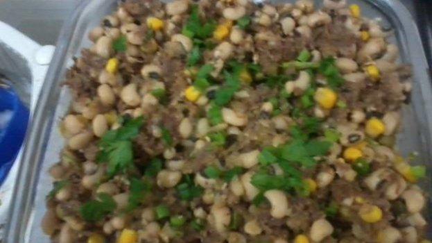 Salada de Músculo com Feijão Fradinho