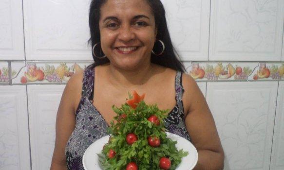 Salada Árvore de Natal