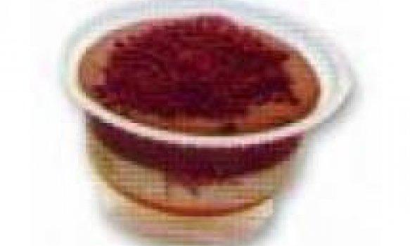 Creme Gelado de Chocolate branco e chocolate em pó