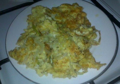 Omelete com Germe de Trigo e Linhaça