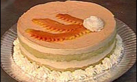 Torta de mousse de mamão