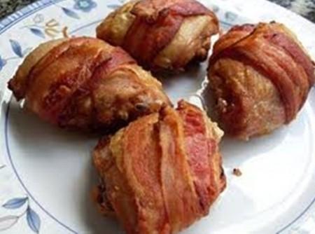 Coxa de Frango com Bacon