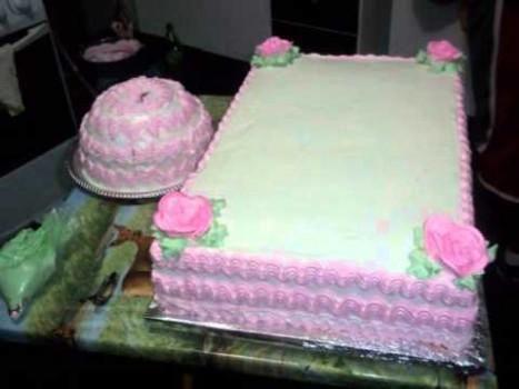 Bolo de Aniversário da Vovó Carolina