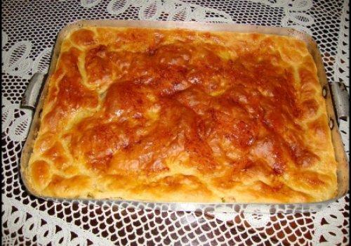 Pão de assadeira recheado com kitut