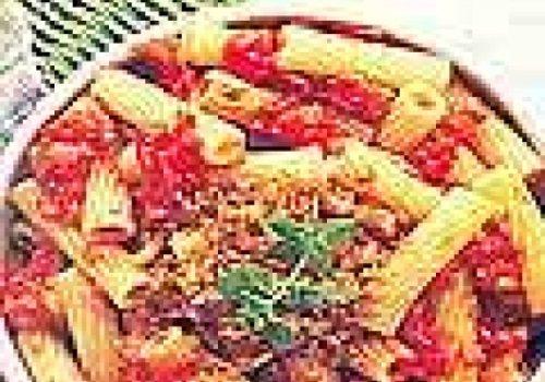 Rigatoni com Migalhas de Pão e Alho