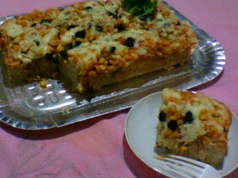 Torta de Sobras de Frios e Legumes