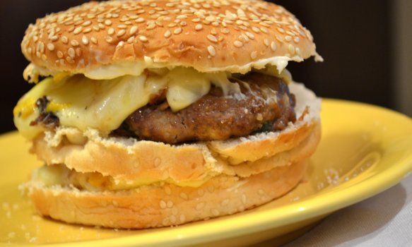 Hambúrguer Tradicional