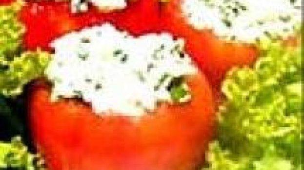 Tomate Recheado com Atum