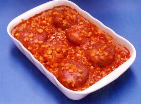 Filés à Parmegiana de Carne Moída