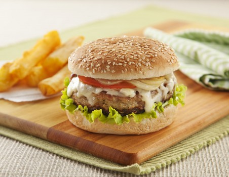 Hambúrguer de Carne de Sol