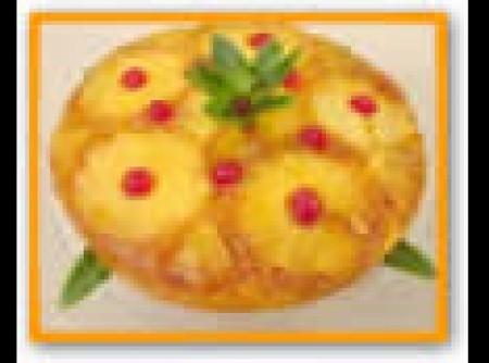 Bolo de Casca de Abacaxi | Cris