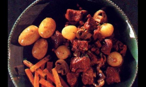 Ensopado de carne da borgonha