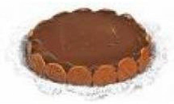 Torta Alemã com Chocolate Meio Amargo