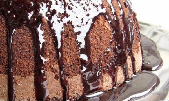 Bolo de Chocolate e Coco sem Farinha