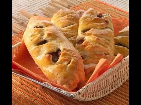 Pão de Escarola e Linguiça