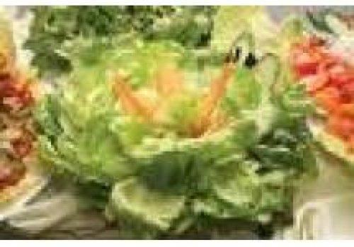 Salada de Folhas, Carambola, Gorgonzola e Nozes