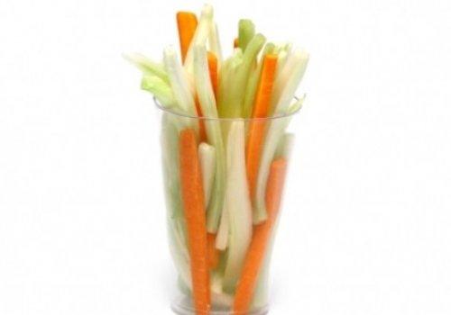 Palitinhos de legumes