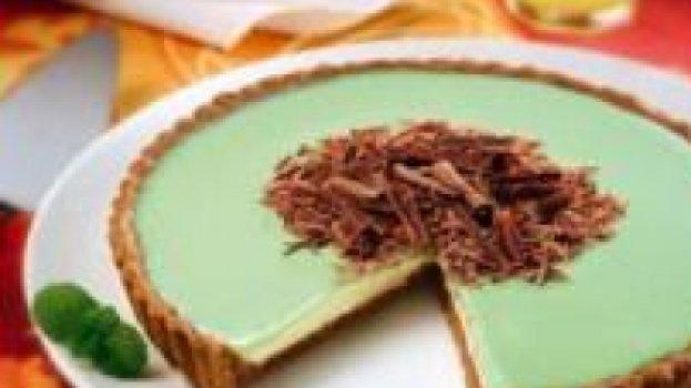 Torta Crocante de Menta