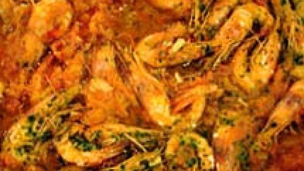 Espaguete Mediterrâneo de Camarões