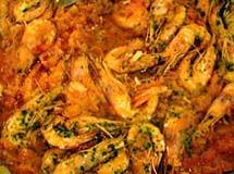 Espaguete Mediterrâneo de Camarões | Luiz Lapetina