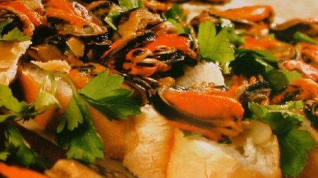 Salada de Mariscos no Vinagrete