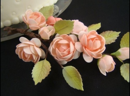 Massa para modelar flores | Elaine Herrero
