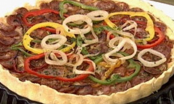 Quiche Pizza