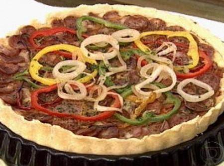 Quiche Pizza   Clarice Martins