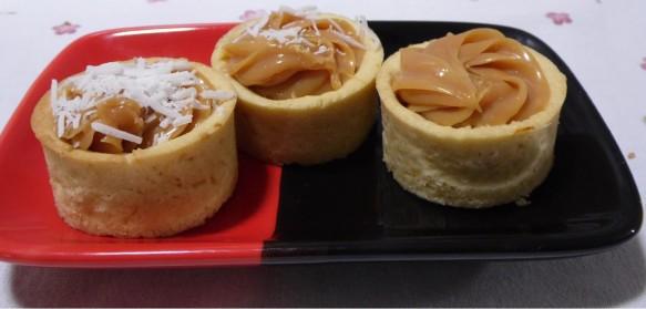 Tortinhas de Caramelo com Laranja | vanderleia Andrade
