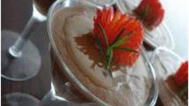 Mousse de Chocolate com Azeite de Oliva