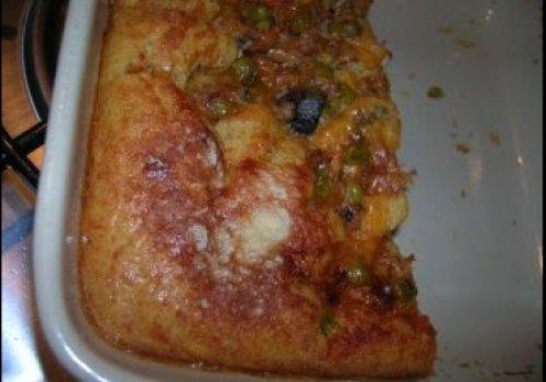 Empadão tipo pizza