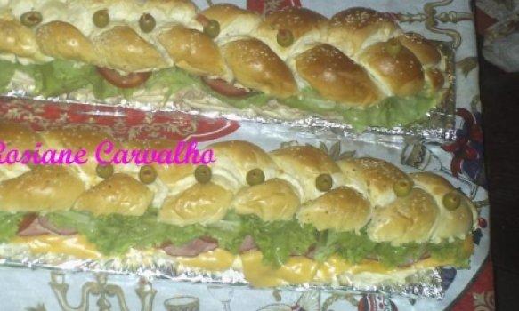 Sanduíche de metro (2 receitas)