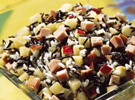 Salada de Arroz com Lombinho