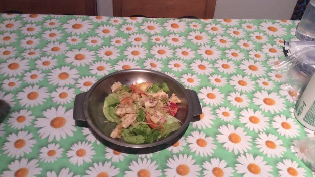 Salada de Repolho com Alface Americana