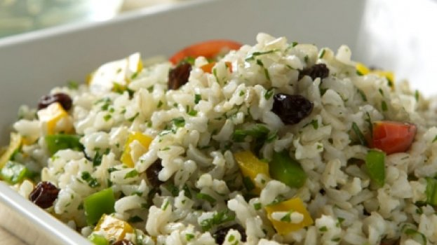 Salada de Arroz Integral