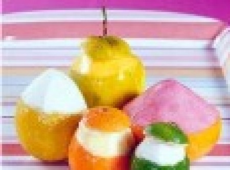 Sorvete de Frutas Cítricas