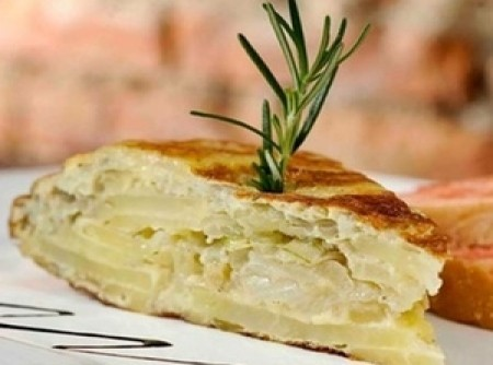 Tortilha de batata | Cybele Medeiros Ortelan