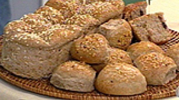 Pão Integral (cresce no chá)