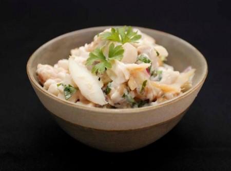 Salada de Bacalhau com Grão-de-bico | jandira costa oliveira