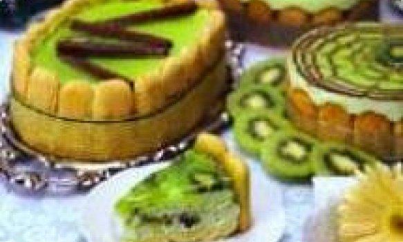 Torta Kiwi Menta