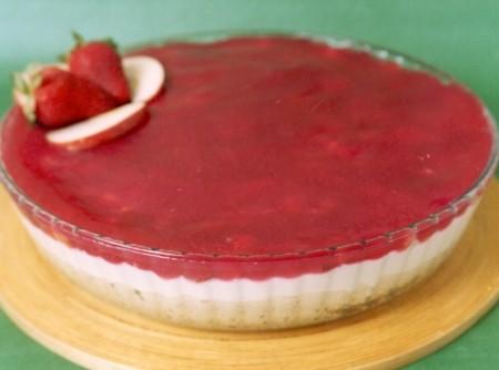Torta de Frutas com Groselha