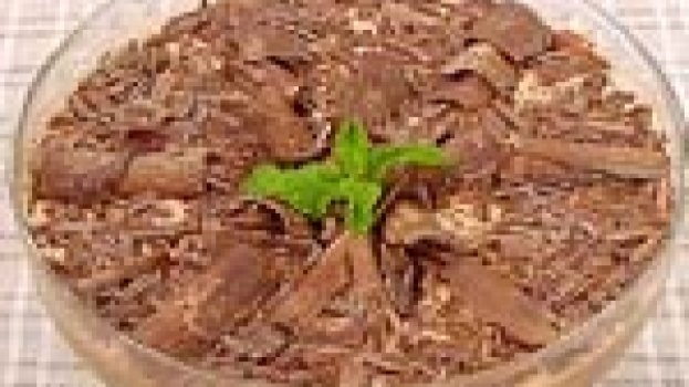 Strogonoff de Chocolate com Nozes