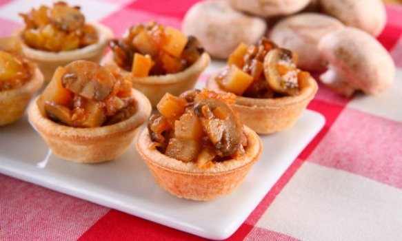 Tortinhas de Goulash (Cogumelos)