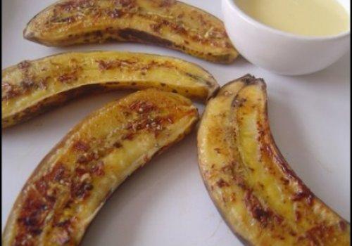 Banana caramelada