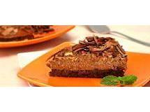 Torta Mousse de Chocolate e Nozes