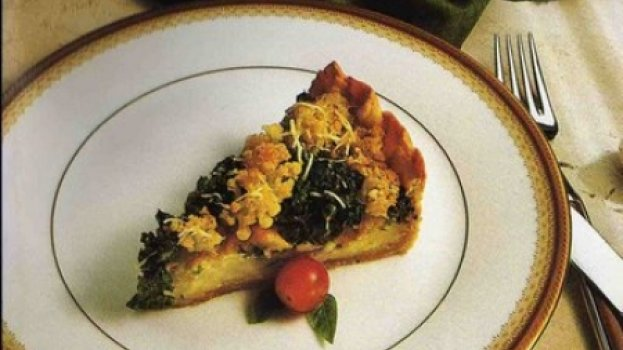 Torta de Brócolis com Queijo