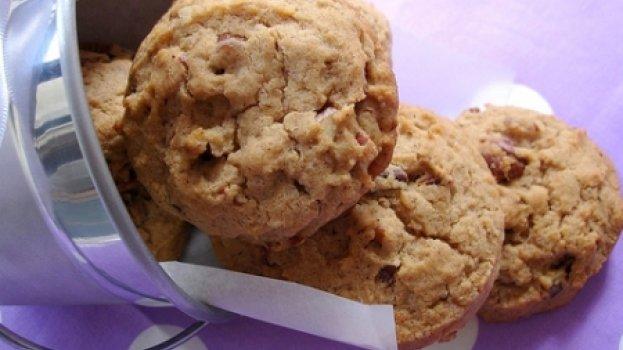 Cookies de Canela e Pecãs