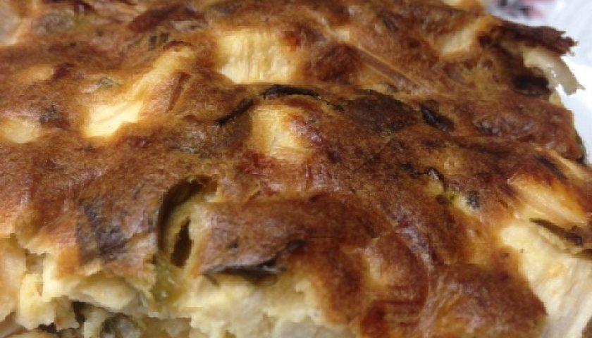 Torta de Palmito com Azeitonas