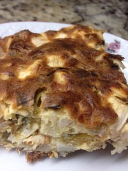 Torta de Palmito com Azeitonas   Mila Schreiber