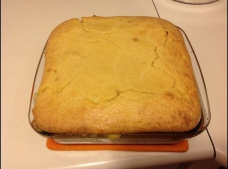 Torta com Queijo e Azeitonas